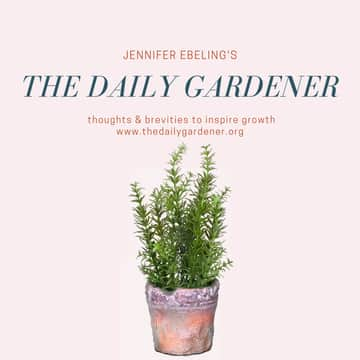 The Daily Gardener: May 6, 2019 Warm Night Temperatures